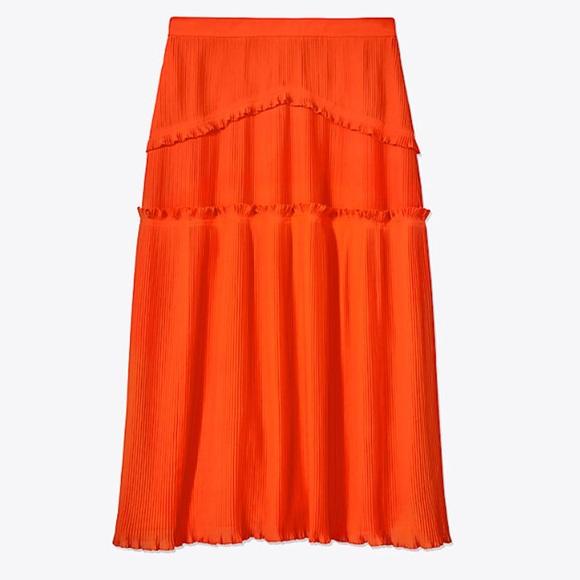 96b9996d50 Tory Burch Skirts | Stella Midi Skirt | Poshmark